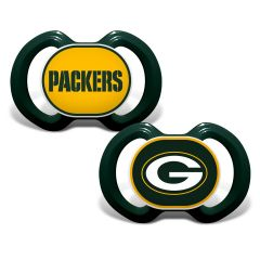 Packers Team Color 2-Pack Pacifiers
