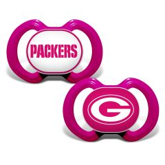 Packers 2-Pack Pink Pacifiers