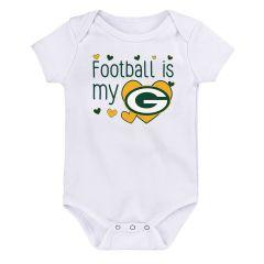 Packers Newborn My Love Bodysuit