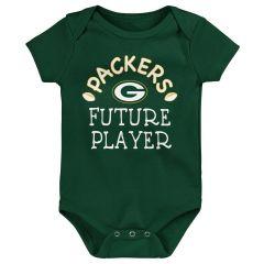 Packers Newborn Future Star Bodysuit