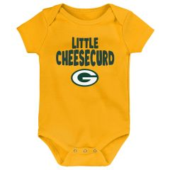 Packers Infant Cheesecurd Bodysuit