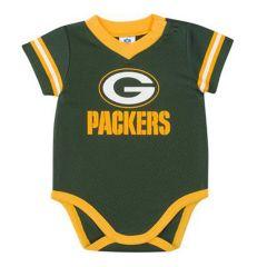 Packers Infant Boys Dazzle Bodysuit