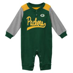 Green Bay Packers Infant Scrimmage Coverall