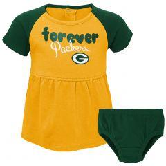 Packers Infant Girls Formation Dress Set