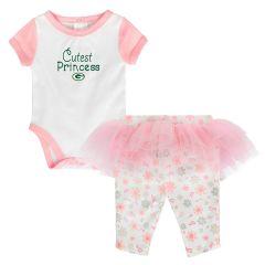 Newborn Girls Lil Princess Tutu Legging Set