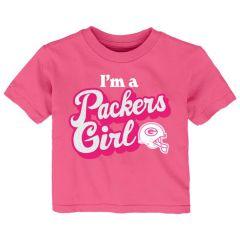 Packers Infant Team Girl T-Shirt