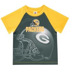 Packers Infant Sublimated Helmet T-Shirt