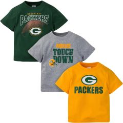Packers Infant 3-Pack T-Shirts