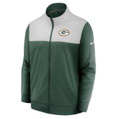 Packers Logo Color-Blocked Full Zip Jacket