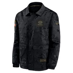 Packers Salute to Service Snap Front Jacket