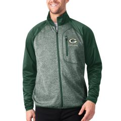 Packers Front Runner Transitional Full Zip Jacket