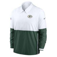 Packers Coaches' Light-Weight 1/2 Zip Jacket