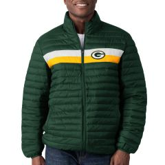 Packers Yard Line Quilted Jacket