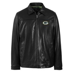 Packers Classic Leather Jacket