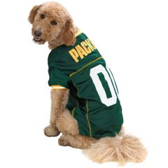 Green Bay Packers Pet Mesh Jersey