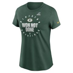 Packers 2020 Women's Division Champs T-Shirt