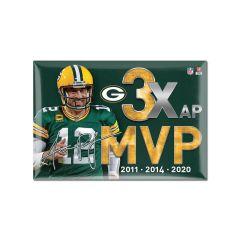 Packers Aaron Rodgers MVP 2020 Magnet