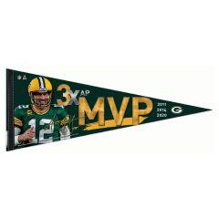 Packers Aaron Rodgers MVP 2020 Pennant