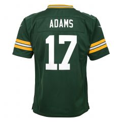 #17 Davante Adams Home Pre-School Game Jersey