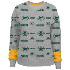 Packers Pre-School Girls Triumph Fleece Crew