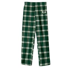 Packers Pre-School Buffalo Plaid Pajama Pant