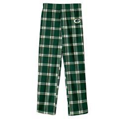 Packers Youth Buffalo Plaid Pajama Pant
