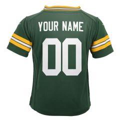 Packers Pre-School Custom Home Game Jersey