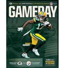 Game Day Program October 3 Pittsburgh Steelers