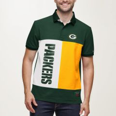 Packers Tommy Hilfiger Color-Blocked Polo