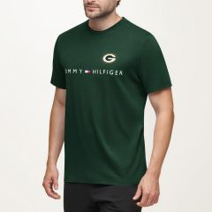 Packers Tommy Hilfiger Graphic Crewneck T-Shirt