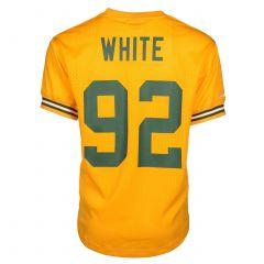 Packers #92 Reggie White Mesh Crewneck Top