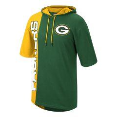 Packers Split Hooded Top