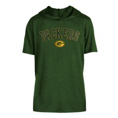 Packers Brushed Hooded T-Shirt