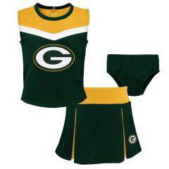 Packers Toddler Spirit Cheerleader Set
