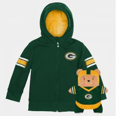 """Toddler """"Cubcoats"""" Packable Hoodie & Plush"""
