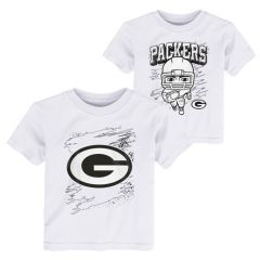 Packers Toddler Coloring Activity T-Shirt Set