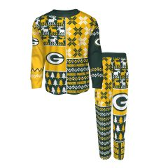 Packers Toddler Ugly Sweater Pajama Set