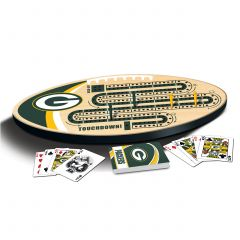 Packers Cribbage Board Set