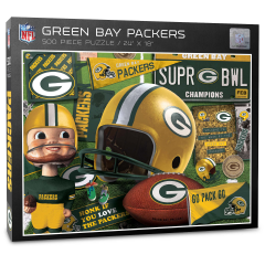 Packers Retro 500-Piece Puzzle