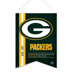 Packers 13-Time Champs Felt Scroll Pennant