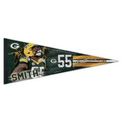 Packers #55 Smith Jersey Stripe Premium Pennant