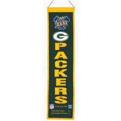 Green Bay Packers Super Bowl XXXI Banner