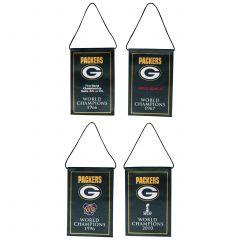 Packers Mini Banner 4-Pack Set