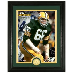 Packers Nitschke Legends Bronze Coin Photomint