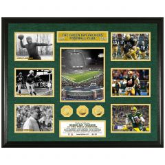 Packers Legends Timeline Gold Coin Mega Photomint