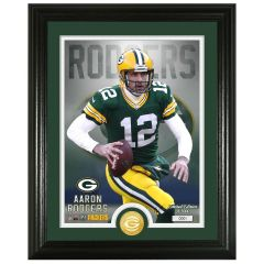 Packers #12 Rodgers Bronze Coin Photomint