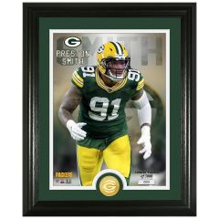 Packers #91 Smith Bronze Coin Photomint