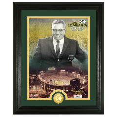 Packers Lombardi Bronze Coin Photomint