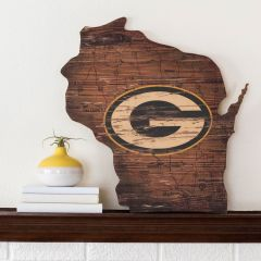 Packers State Wood Cut Out Sign