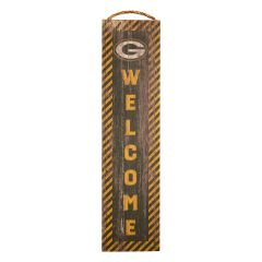 Packers Team Welcome Wood Sign